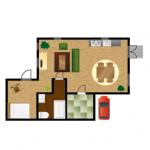 お部屋の模様替えは意外と簡単?配置を変えるだけで大変身!